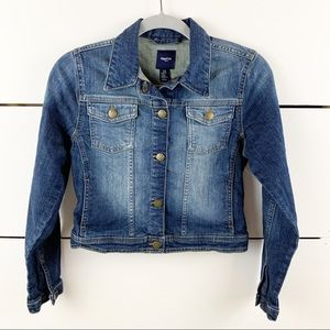 GAPKIDS FACTORY Snap Button Denim Jacket XL
